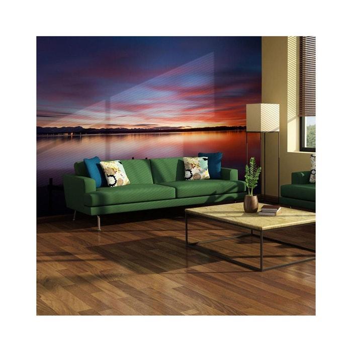 papier peint effet miroir sur la surface lisse du lac 200 x 154 recollection la redoute. Black Bedroom Furniture Sets. Home Design Ideas