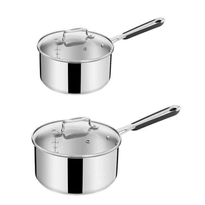 8 pces casseroles inox avec couvercle en verre Lot de casserole casseroles poêle casserole casseroles
