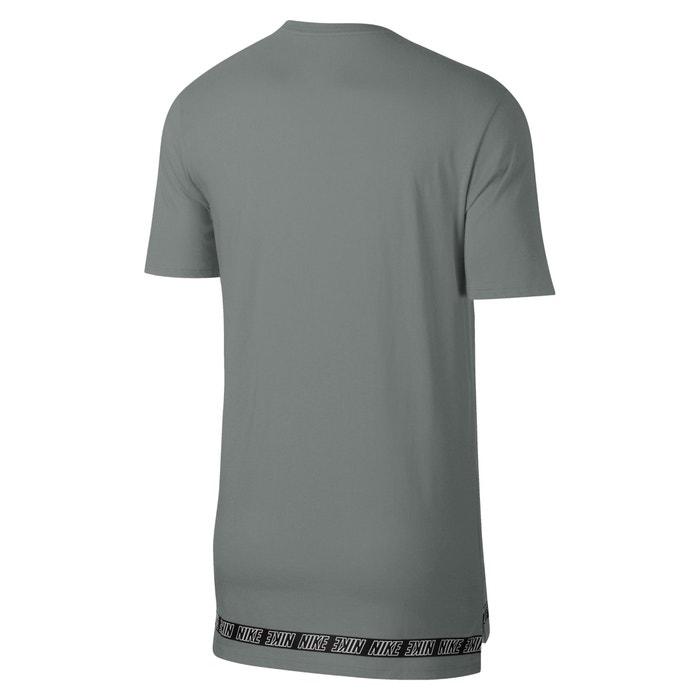 corta con cuello lisa y redondo NIKE Camiseta manga awqz8xHZU