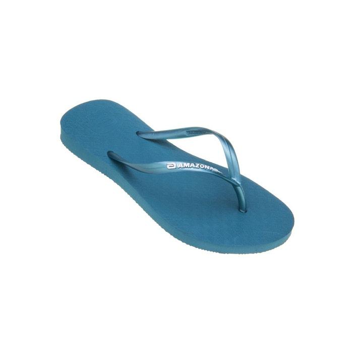 Tongs femme Amazonas Fun Bleu et Vert d'eau 9WTVpTtKb
