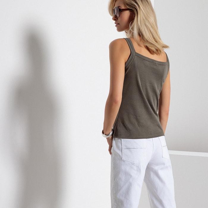 ANNE algod WEYBURN peinado sin Camiseta mangas 100 243;n XXfFrx