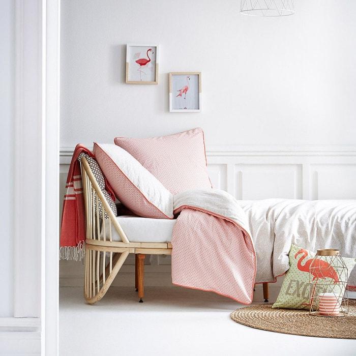 parure de lit tropik coton 57 fils rouge i fil home la redoute. Black Bedroom Furniture Sets. Home Design Ideas