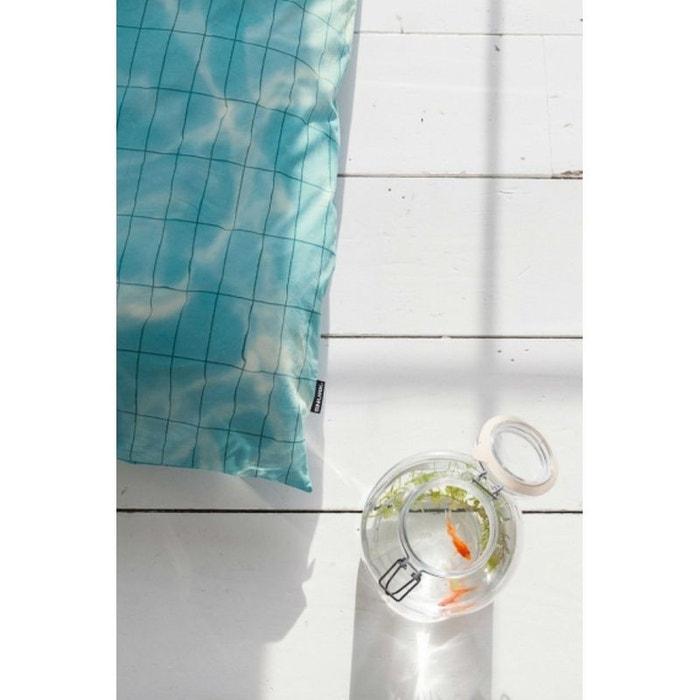 Parure de lit piscine 140x200 bleu clair nordic factory for Piscine autoportee la redoute