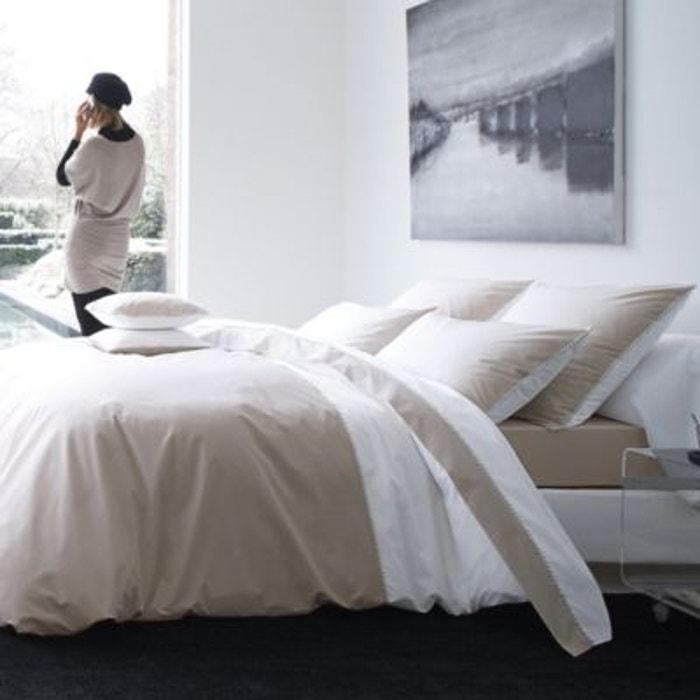 housse de couette percale memory blanc d es vosges autre blanc des vosges la redoute. Black Bedroom Furniture Sets. Home Design Ideas