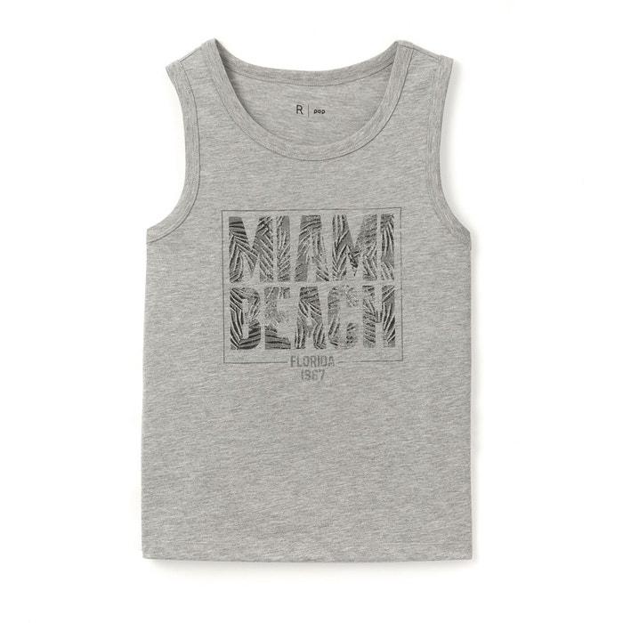 Débardeur imprimé Miami Beach 10-16 ans