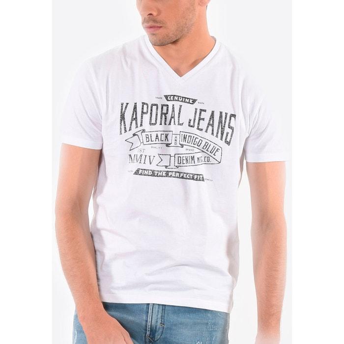 Tee shirt col v, manches courtes  KAPORAL 5 image 0