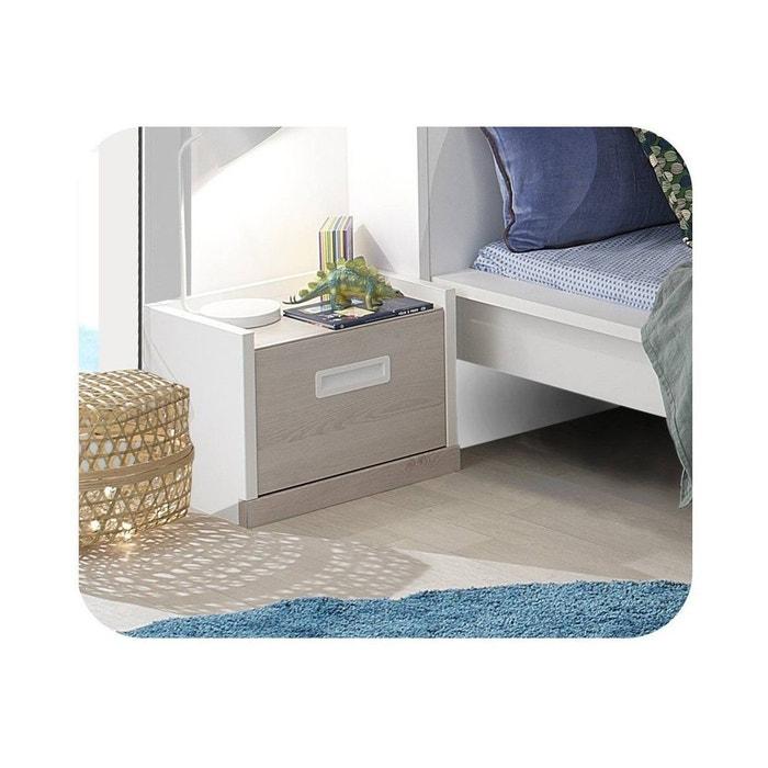 chevet enfant il o blanc ma chambre d 39 enfant la redoute. Black Bedroom Furniture Sets. Home Design Ideas