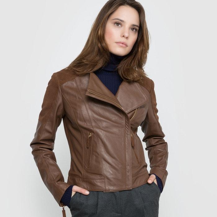 Image Leather Biker Jacket atelier R