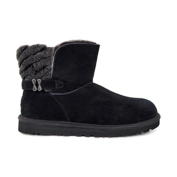 Boots fourrées w adria noir Ugg Acheter Pas Cher 2018 Grosses Soldes DPIez0B2T