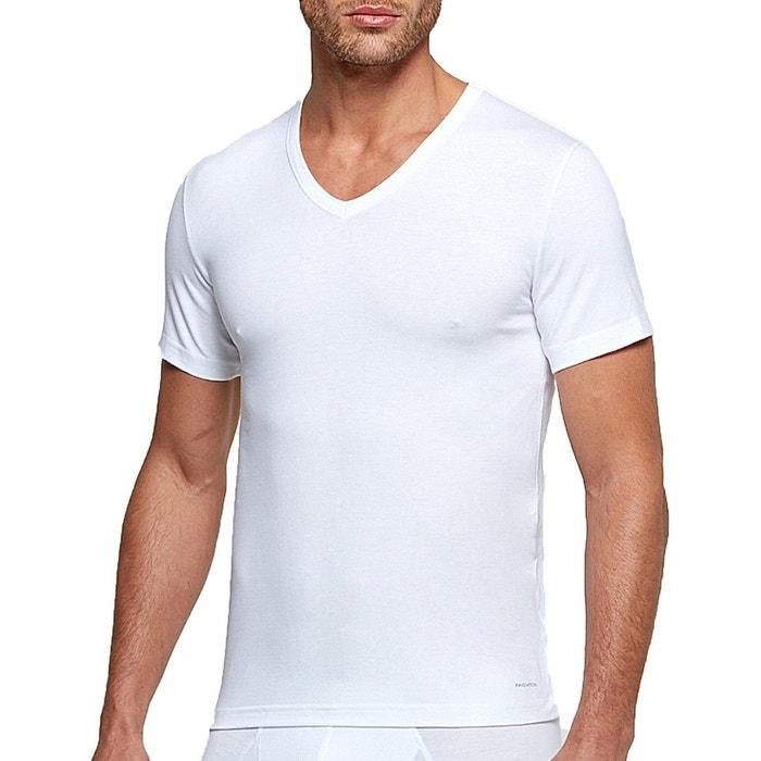 9ba52cddd5838 T-shirt col v tricot de peau innovation pour homme régulateur de température  Impetus Innovation | La Redoute