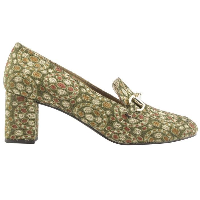 Chaussures à talons sultane or Exclusif Paris