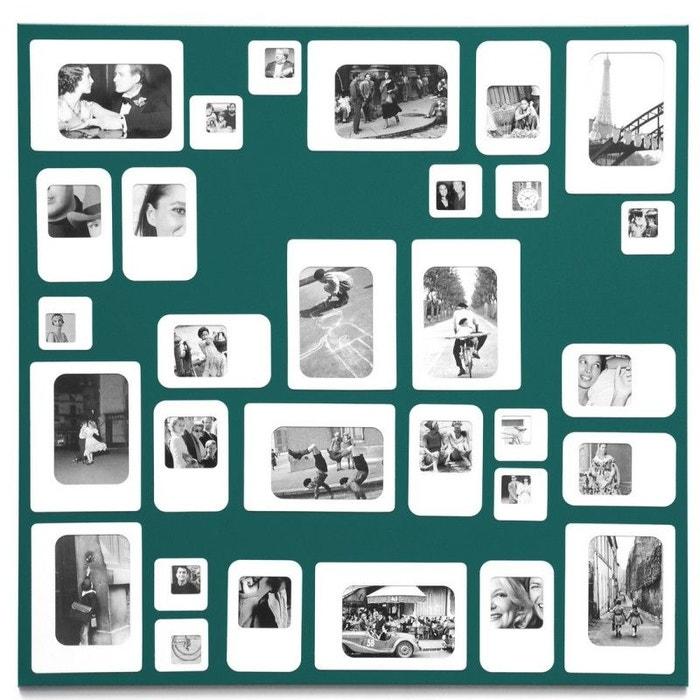 cadre photo mural p le m le carr magn tique m30 presse. Black Bedroom Furniture Sets. Home Design Ideas