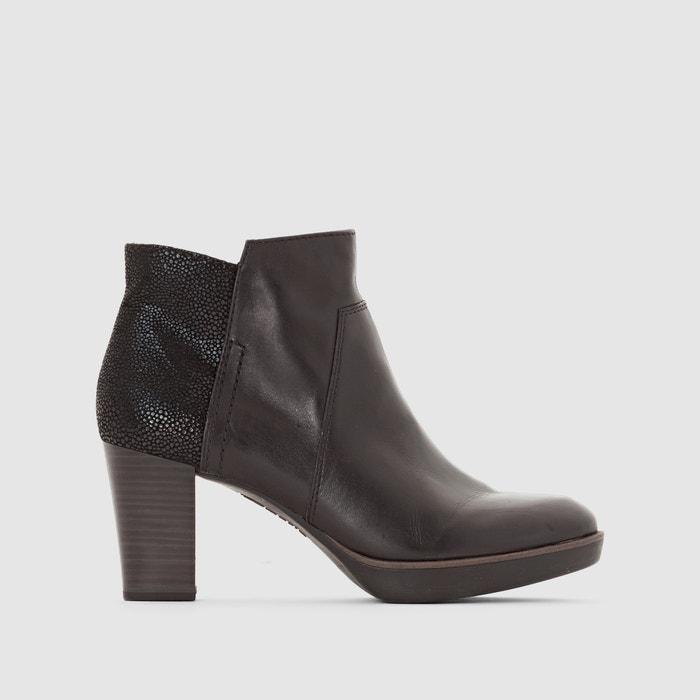 Boots cuir à talon 25397-27  TAMARIS image 0