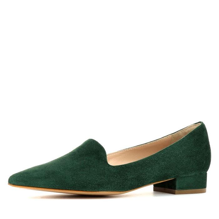 Slippers femme vert Evita   La Redoute dcd1ed87f01c