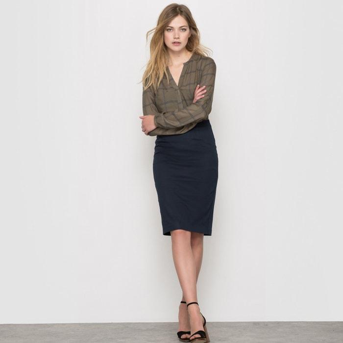 Image Stretch Cotton Pencil Skirt R édition