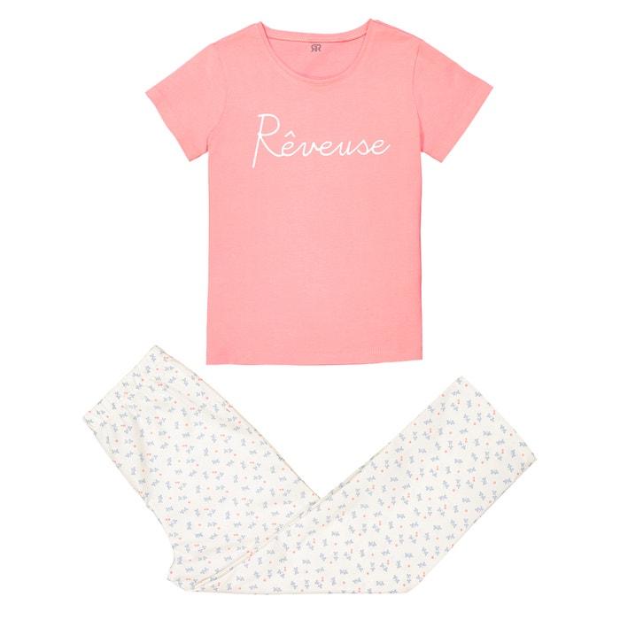 Cotton Pyjamas, 3-12 Years  La Redoute Collections image 0
