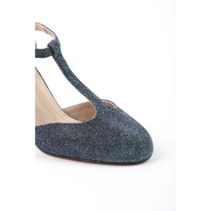 Escarpins salomé femme à paillettes TINA chaussures petites pointures