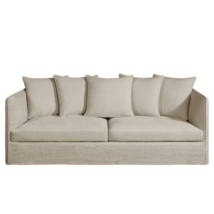 omvormbare canap neo chiquito dik linnen am pm la redoute. Black Bedroom Furniture Sets. Home Design Ideas
