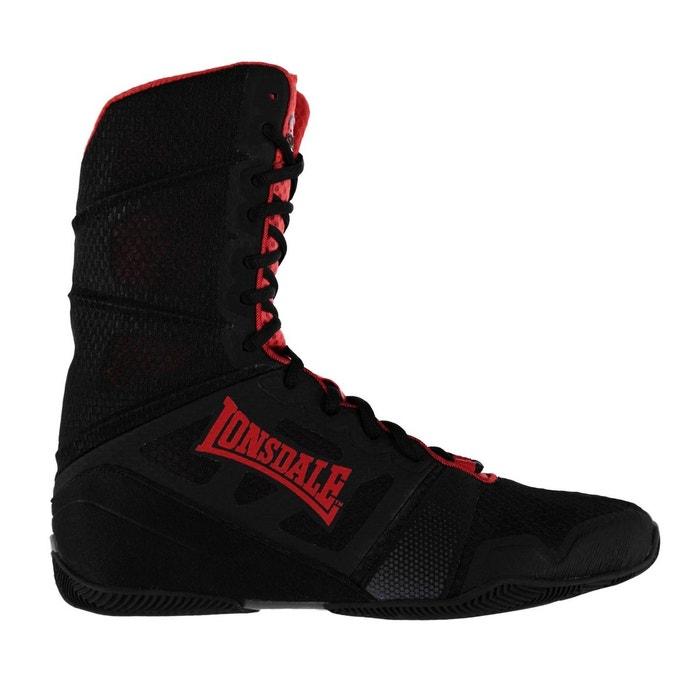 1290a923963a4 Boxing bottes chaussures noir, rouge Lonsdale   La Redoute