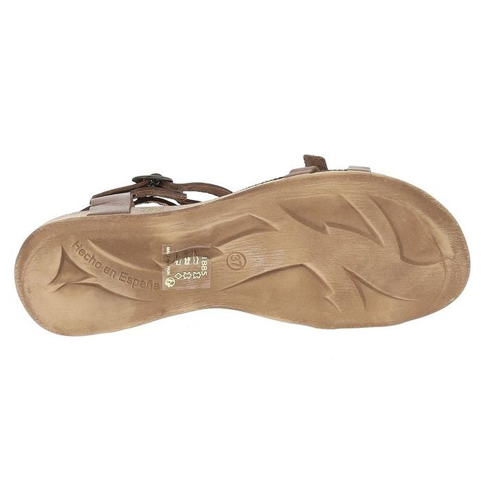 ANA Sandales KICKERS cuir talon en plat 8dvqFt