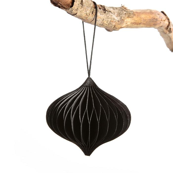 suspension papier mod 3 kalissa am pm noir la redoute. Black Bedroom Furniture Sets. Home Design Ideas