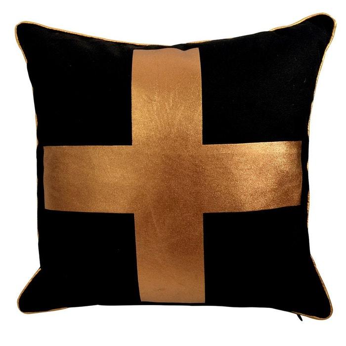 coussin d coratif golden cross housse coussin rendez vous deco la redoute. Black Bedroom Furniture Sets. Home Design Ideas