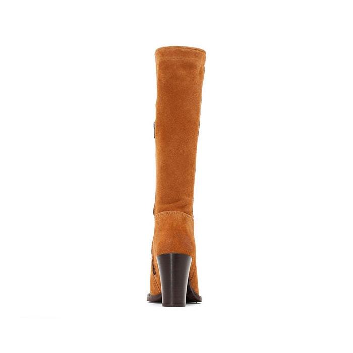 Bottes cuir à talon 74351 hartville sud camel P-L-D-M-By Palladium
