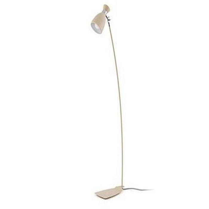 lampadaire retro e14 40w beige - faro - 20019 multicolore faro | la