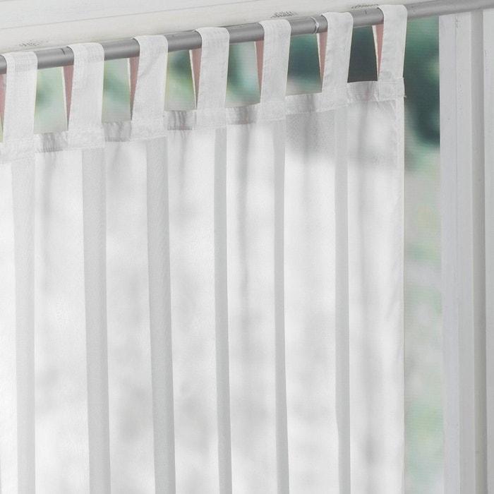afbeelding Glasgordijn met lussen, LIMPO La Redoute Interieurs