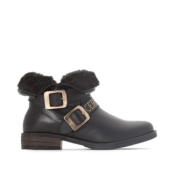 LTC Janis Fur-Lined Ankle Boots