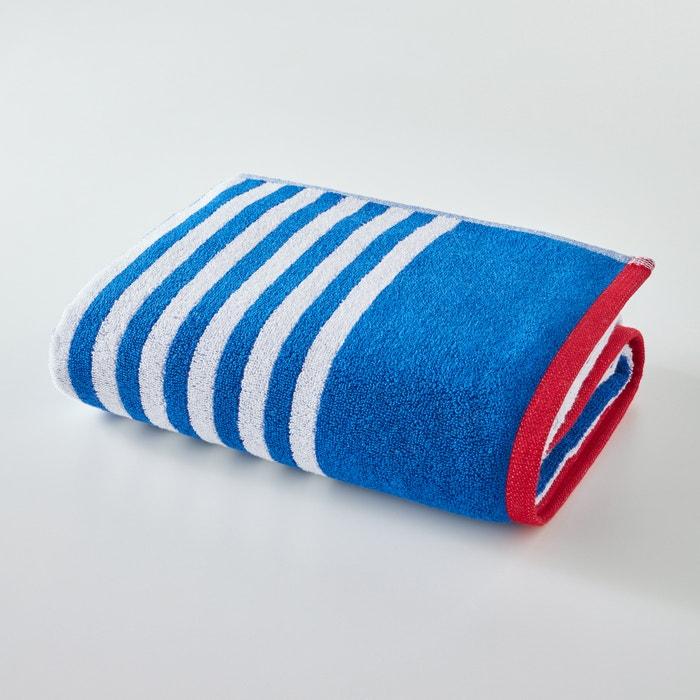 Striped 100% Cotton Bath Sheet  La Redoute Interieurs image 0