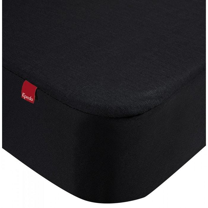 drap housse epeda 2 en 1 noir noir epeda la redoute. Black Bedroom Furniture Sets. Home Design Ideas