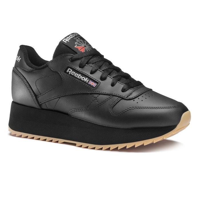 Baskets classic leather noir Reebok Classics   La Redoute
