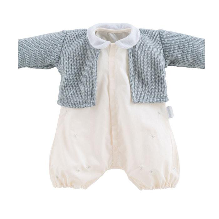 5dc691e7f77d Vêtement pour poupon 52 cm bébé chéri   barboteuse et gilet contes de noël  Corolle   La Redoute