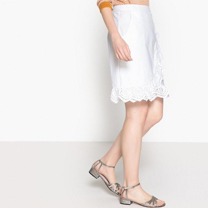 Ruffled Wrapover Midi Skirt  MADEMOISELLE R image 0