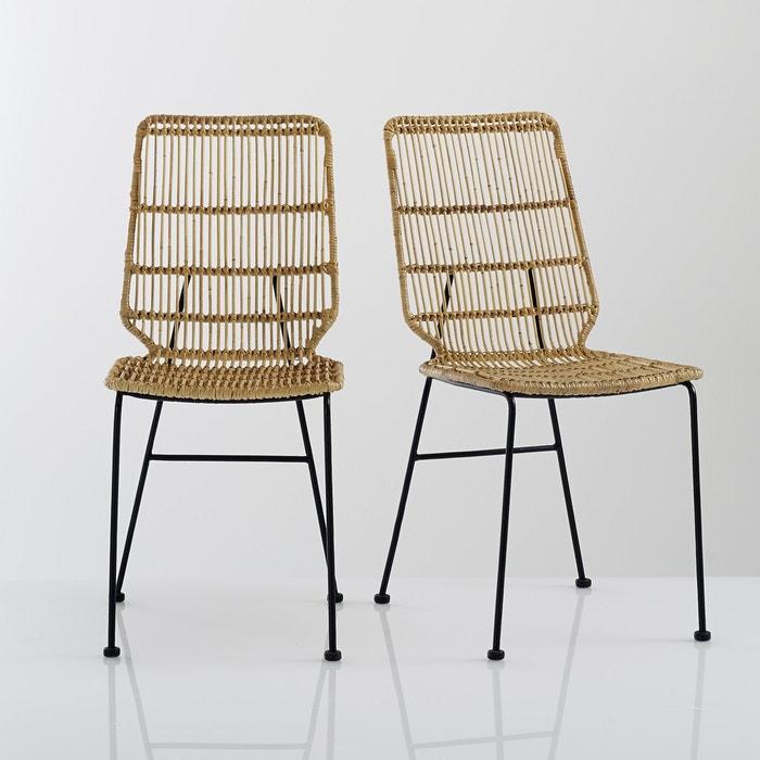 Image Set of 2 MALU Kubu Chairs La Redoute Interieurs