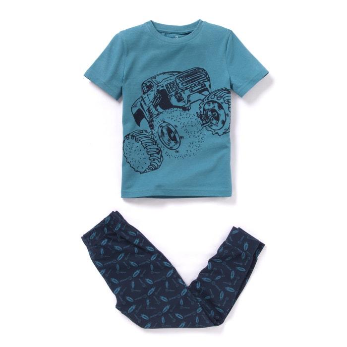 afbeelding Pyjama met Monster car print abcd'R