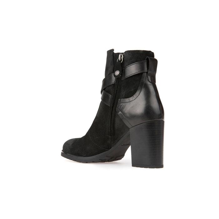 Boots détail boucle new lise noir Geox