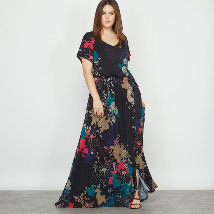 Floral Print Maxi Dress  CASTALUNA image 0