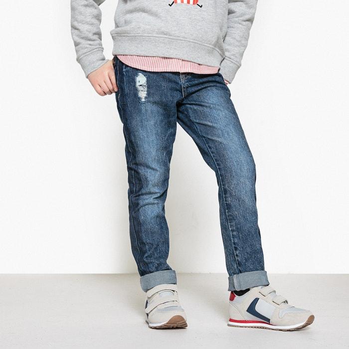 Jeans boyfit scolorito da 3 a 12 anni  La Redoute Collections image 0