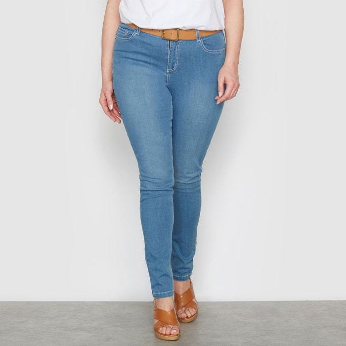 """Jean slim stretch """"courbes généreuses"""" entrej. 73 CASTALUNA"""