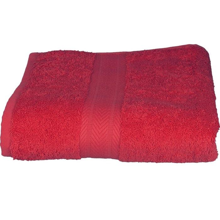Couleur Framboise serviette invitée 30 x 50 cm en coton couleur framboise framboise