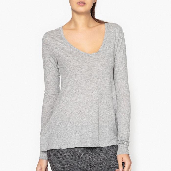 Jacksonville Long-Sleeved V-Neck T-Shirt  AMERICAN VINTAGE image 0
