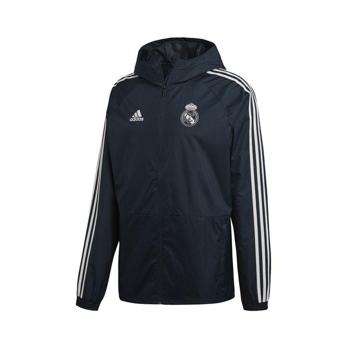 Real Performance Bleu Coupe Madrid Vent Veste Adidas PqRaap