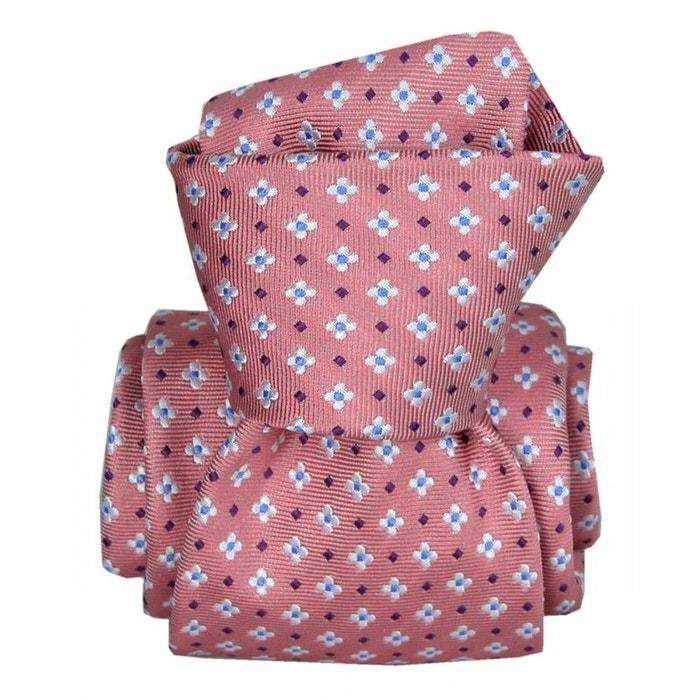 Cravate segni disegni luxe, faite main, seville rose rose Segni Et Disegni | La Redoute