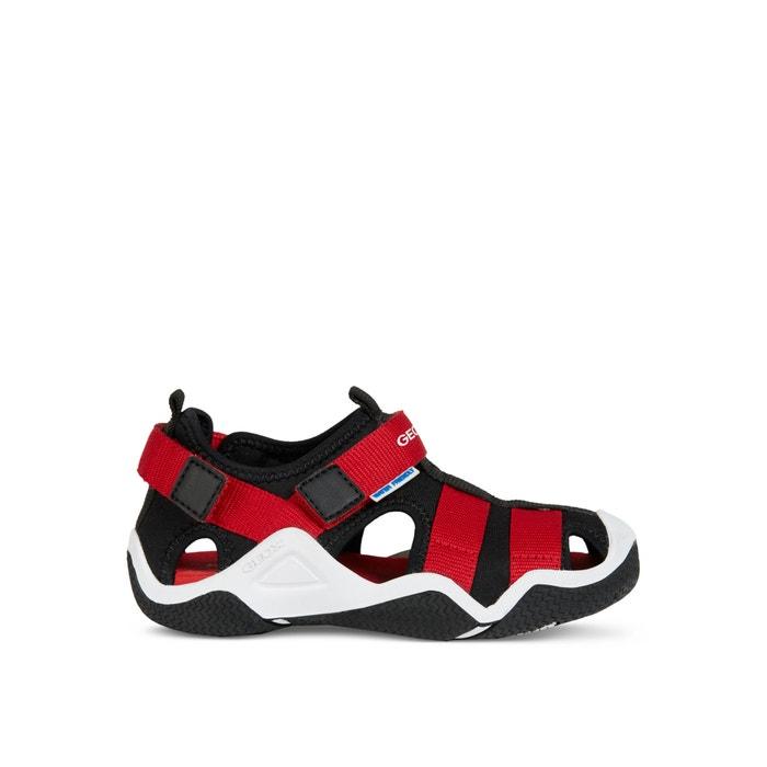 57b4a4648d Jr wader sandals , black/red, Geox | La Redoute