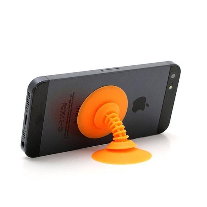 support de bureau ventouse orange pour t l phone orange amahousse la redoute. Black Bedroom Furniture Sets. Home Design Ideas