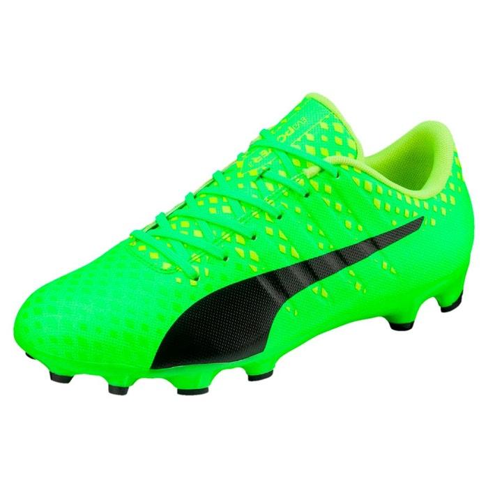 Chaussure de foot evopower vigor 3 ag pour homme green-black-yellow Puma