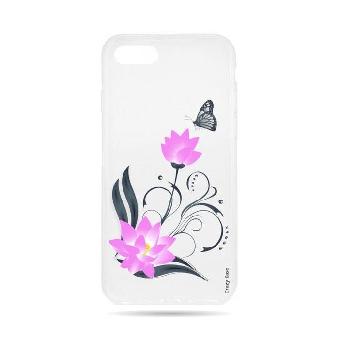 coque iphone 8 black lotus