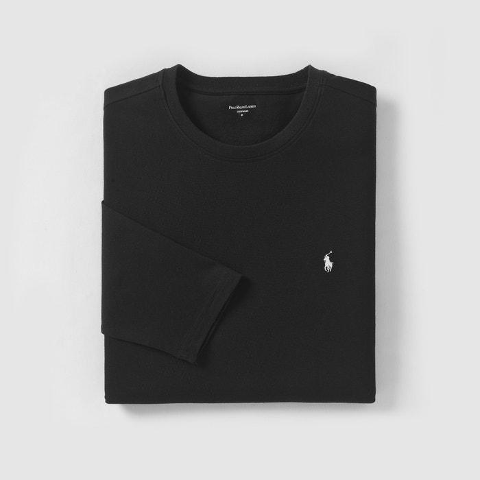 eedc71f06ca09a T-shirt manches longues Polo Ralph Lauren noir   La Redoute